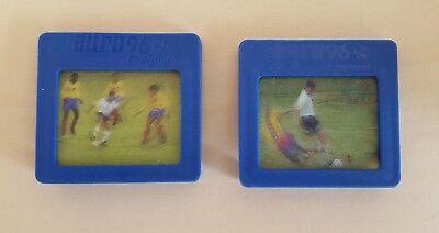Kellogg's Euro 96 Football Virtual Video Collection Slides Gascoigne & Anderton na sprzedaż  Wysyłka do Poland