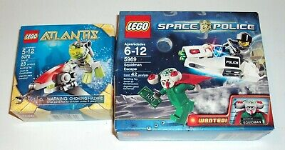 Lego ATLANTIS 8072/ SPACE POLICE 5969 Squidman Escape Factory Sealed Brand NEW