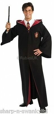 Official Mens Ladies Adult Harry Potter Robe Book Day Fancy Dress Costume Outfit