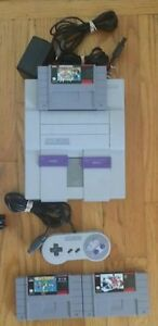 Super Nintendo System Three (3) Games: Super Mario Allstars SNES