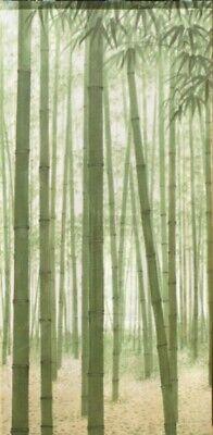 Japanese Noren Door Doorway Curtain Tapestry Bamboo Forest 85x170 cm