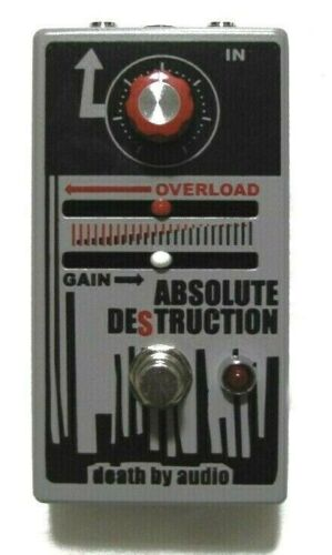 Used Death By Audio Absolute Destruction Guitar Effects Pedal