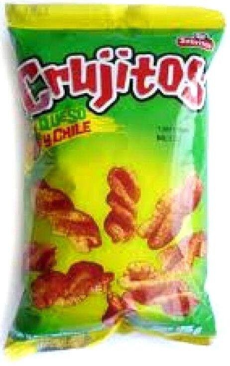 SABRITAS CRUJITOS Mexican CHIPS Sabritas (46 G EACH) 1, 2 OR 3 BAGS