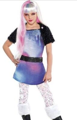 Monster High Abbey Bominable Girls Costume X-Large 14-16  Halloween EXCLUSIVE (Monster High Costumes Abbey)