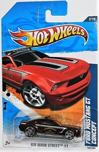 Hot Wheels 1/64 Ford Mustang GT Concept Diecast Car