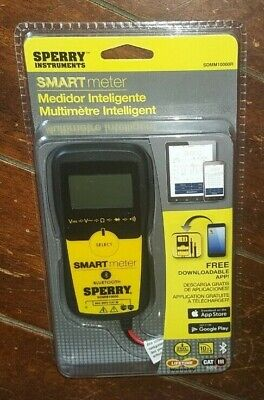 Sperry Instruments 5 Function Digital Smart Multimeter - Model Sdmm10000r