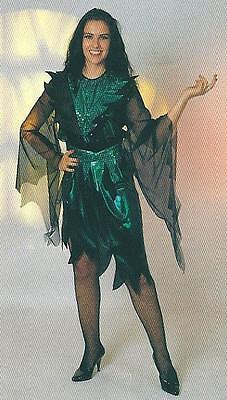 Hexe Casablanca 40 Halloween Kleid Hexenkostüm grün 2. Wahl 1229413