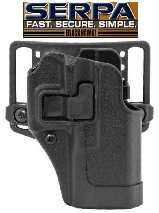 Blackhawk GLOCK 19/23/32/36 Serpa CQC Holster RH 410502BK OWB Belt Paddle