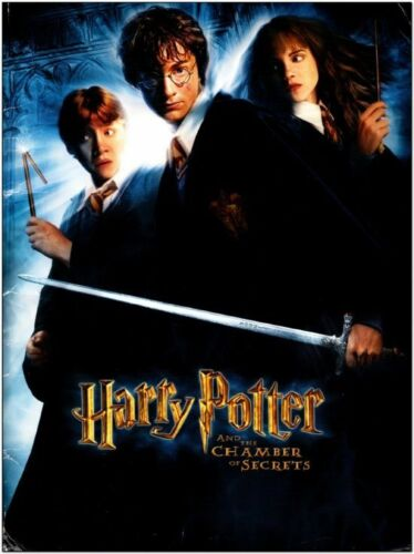 HARRY POTTER: CHAMBER OF SECRETS - 2002 - Original PRESS KIT with CD - RADCLIFFE