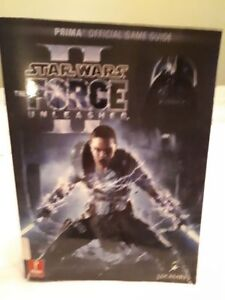 """STAR WARS Prima Official GAME GUIDE (2010) :""""THE FORCE UNLEASHED"""