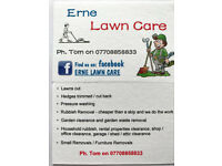 Lawn maintenance, lawns cut, hedges trimmed/cut, pressure washing, rubbish removal, etc etc