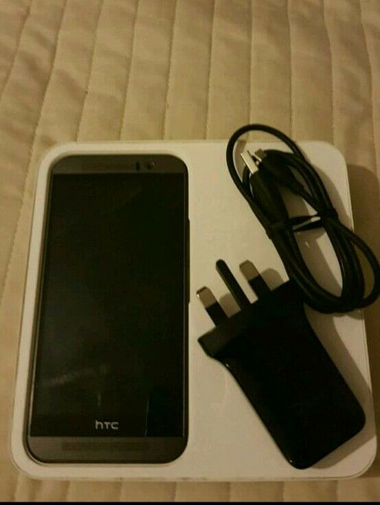 HTC One M9 32GB Unlockedin Lewisham, LondonGumtree - Good condition phone has tempered glass two spare cases box charger
