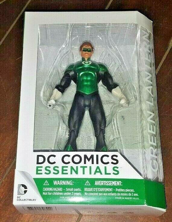 DC Comics Essentials Green Lantern Figure Justice League Hal Jordan Collectibles