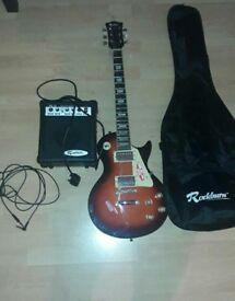 Guitar and Ampli Rockburn