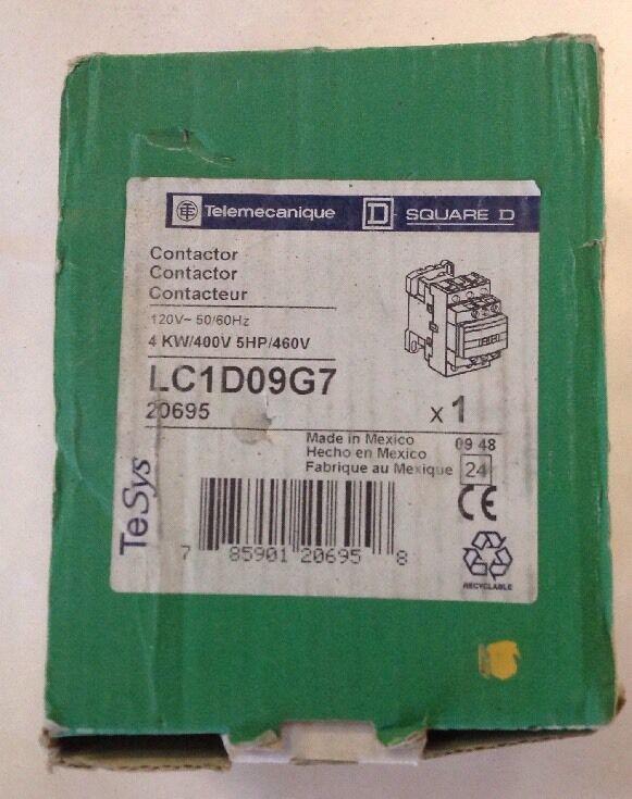Schneider Electric Magnetic Contactor LC1D09U7