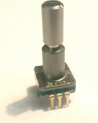 Alps Rotary Encoder W Momentary Switch - 30 Detents 360 Degrees - Pc Board