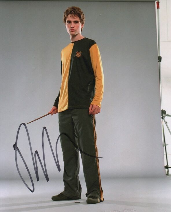 Robert Pattinson Harry Potter Autographed Signed 8x10 Photo COA #1
