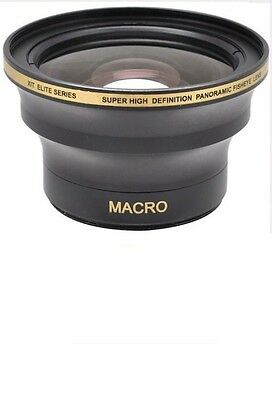 58mm X38 HD Wide Angle Fisheye MACRO Lens for Canon EOS Rebel T3 T3I T5 T5I T4