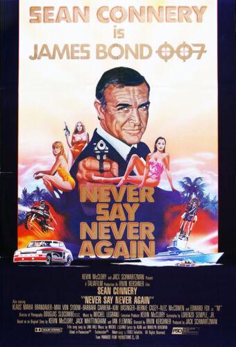 Never Say Never Again 35mm Film Cell strip very Rare var_n