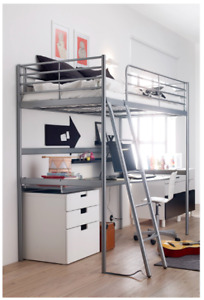 SVÄRTA Ikea Loft bed frame - Great for small rooms in apartments