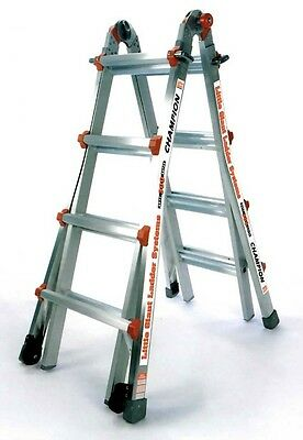 17 1a Champion Little Giant Ladder Bundle - Brand New