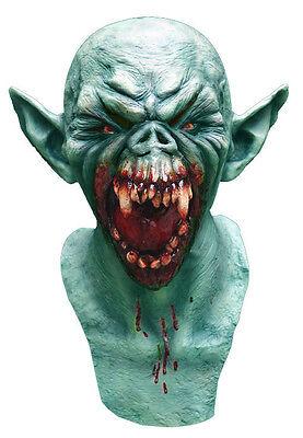 Herren Unheimliche Halloween Maske Latex Deluxe Horror Overhead Hals - Overhead Latex Maske Kostüm