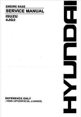 Isuzu 4JG2 Engine Service Manual (B226)