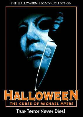 HALLOWEEN 6: THE CURSE OF MICHAEL MYERS Movie POSTER 27x40 B Donald Pleasence