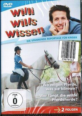 DVD - Willi wills wissen: Wo zeigen Pferde was sie können? Wer fängt die wilde