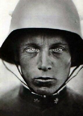 "Austrian-Hungarian soldier, 1918 5""x7"" World War I  WW1 Photo 5"