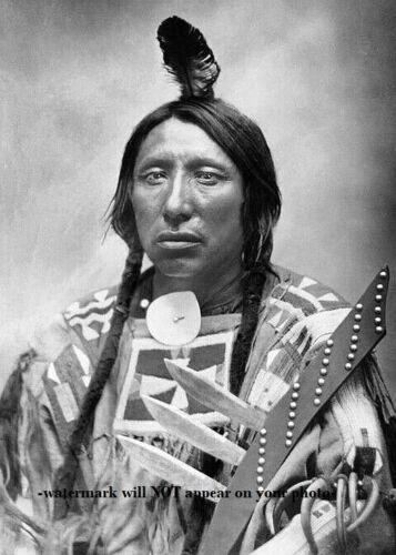 Chief Spotted Eagle PHOTO Sans Arc Lakota Sioux Indian Battle of Little Bighorn