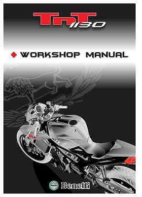 Benelli TNT 1130 Shop Motorcycle Workshop Service Repair Manual (0108)