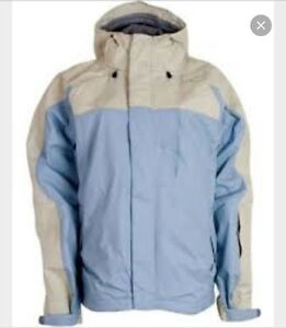 Bonfire optic fragment women's snowboard jacket M- $30