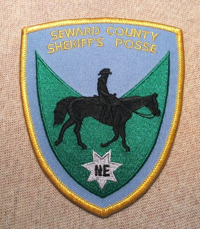 NE Seward County Nebraska Sheriffs Posse Patch