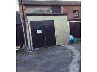 Storage/Workshop secured unit close to Northern General Hospital