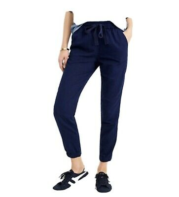 NWT J Crew Point Sur Seaside Pant Jogger Navy Size 0