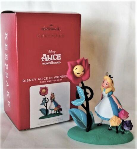 Hallmark 2021 DISNEY Alice in Wonderland 70th Anniversary Ornament, VHTF