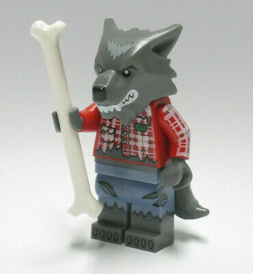 Wolf Guy Bone Werewolf Series 14 Monsters Halloween LEGO Minifigure Figure