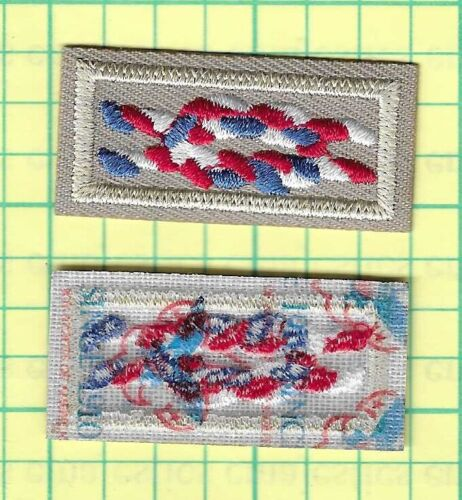 BSA EAGLE SCOUT RANK AWARD SQUARE KNOT PATCH NEW 2021 LIGHT BROWN 1910 GAUZE