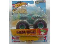 Die-Cast Hot Wheels Monster Trucks Mega Wrex (NEW & Sealed)