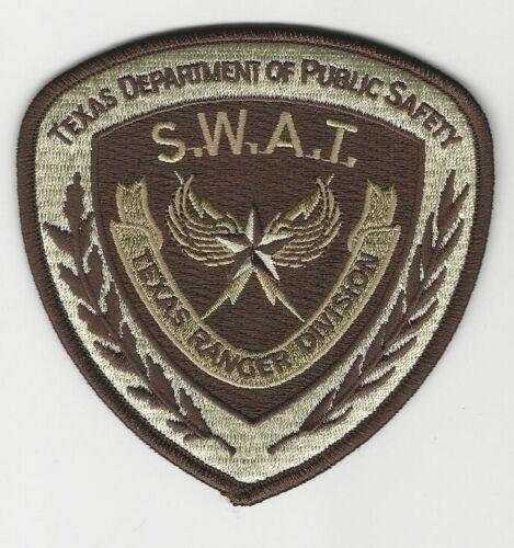 Texas DPS State Police SWAT SRT Ranger Div Tan patch NEAT! TX