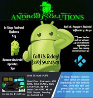 Android Solutions - Updates, Repairs and Sales