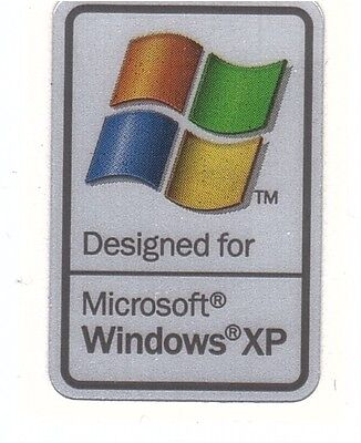 Designed for Windows/XP Technologie Sticker Aufkleber Badge