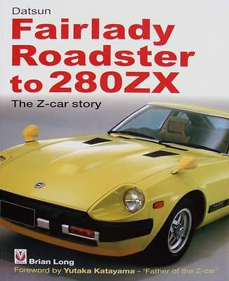 LIVRE NEUF : DATSUN FAIRLADY ROADSTER to 280ZX (the z-car story,collection)