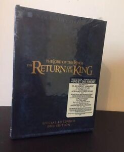 Lord of the Rings DVD box set Unopened