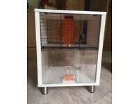 Hamster or gerbil cage-house
