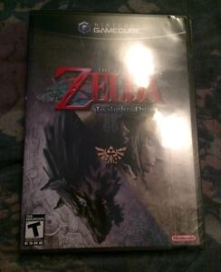 ●○●NEW GAMECUBE LEGEND OF ZELDA TWILIGHT PRINCESS Black Label●○●