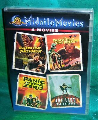 NEW LAND PEOPLE THAT TIME FORGOT PANIC YEAR ZERO LAST MAN ON EARTH 4 MOVIE DVD