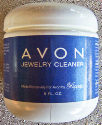 Avon JEWELRY CLEANER by Hagerty, 8 fl. oz., with Brush - NEW