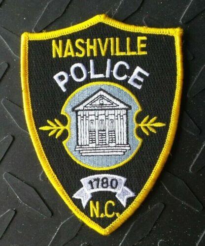 NASHVILLE NORTH CAROLINA POLICE PATCH UNUSED
